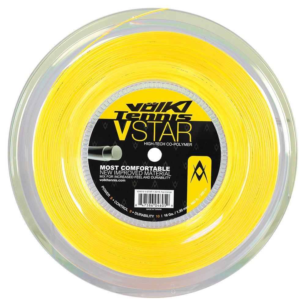 V- Star Tennis String Reel Neon Yellow