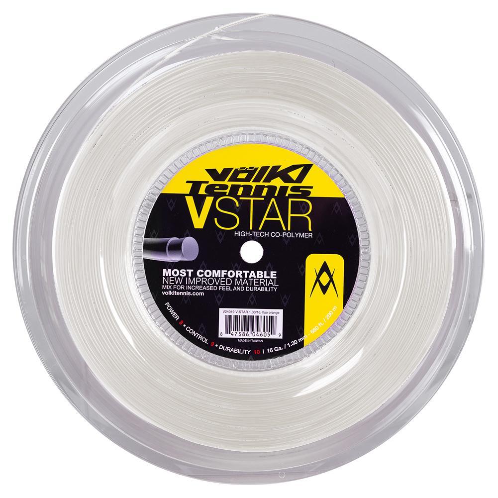 V- Star Tennis String Reel White