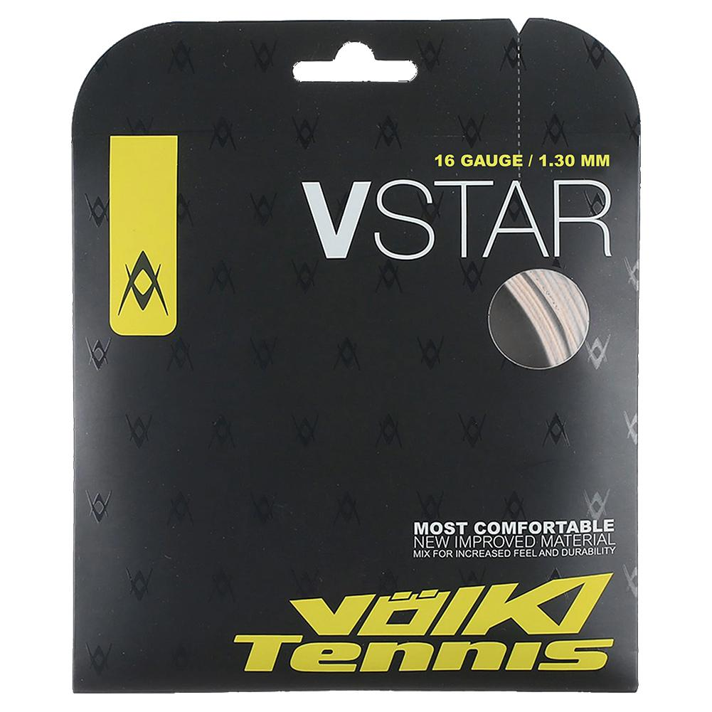 V- Star Tennis String White