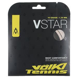 V-Star Tennis String White