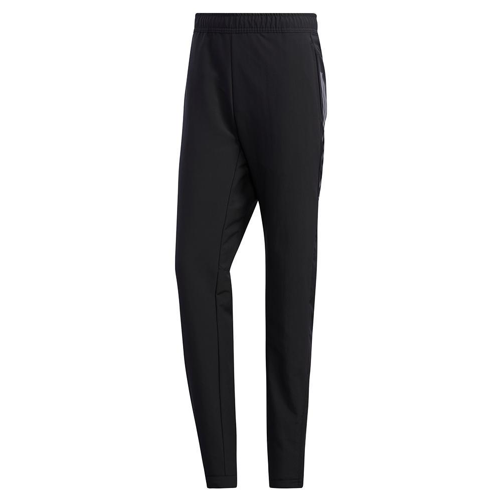 Men's 3- Stripes Woven Tennis Pant Black