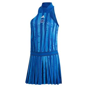 Women`s All-in-One Tennis Dress Team Royal Blue and White