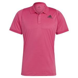 Men`s Freelift Tennis Polo Pink and Black