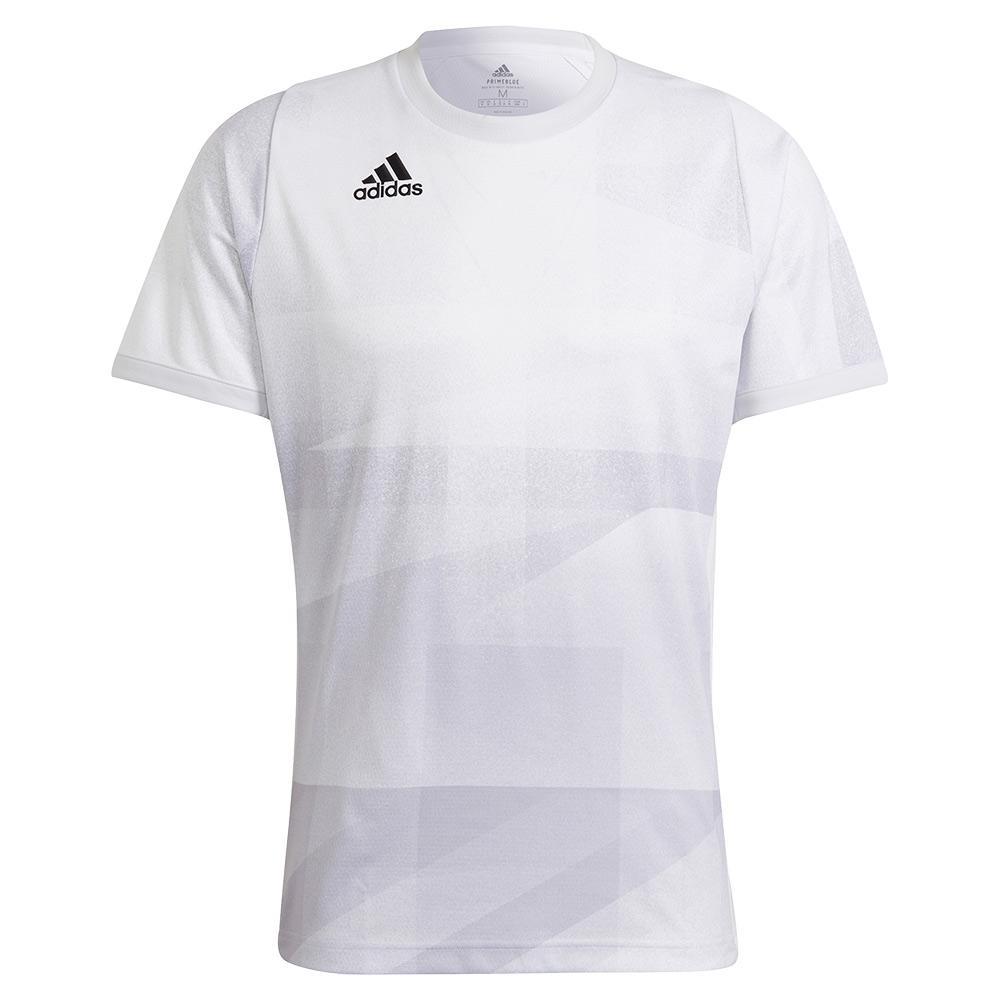 Men's Primeblue Heat.Rdy Freelift Tokyo Tennis Top White And Dash Grey