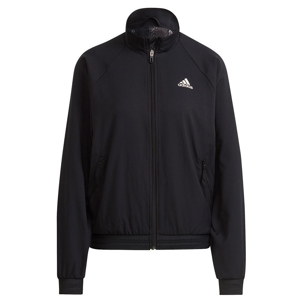Women's Primeblue Woven Tennis Jacket Black