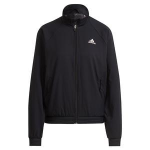 Women`s Primeblue Woven Tennis Jacket Black