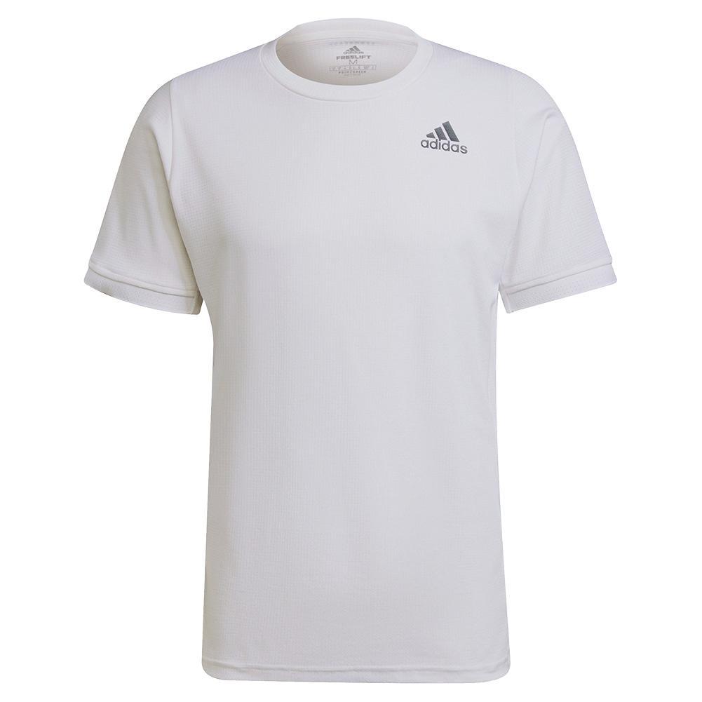 Men's Freelift Tennis Top White And Black