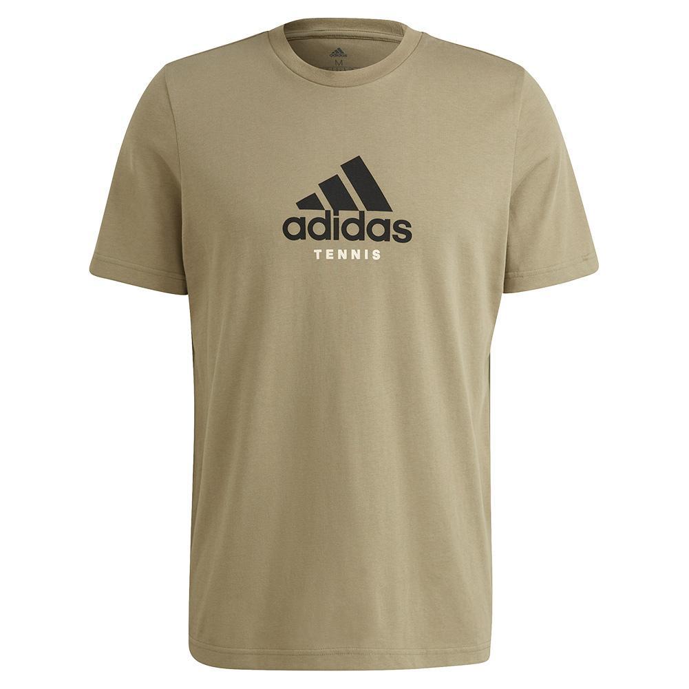 Men's Nyc Fence Graphic Tennis T- Shirt Orbit Green