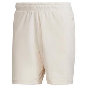 Men`s Primeblue Ergo 7 Inch Tennis Short Wonder White