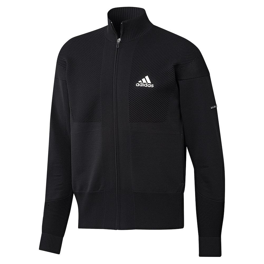 Men's Primeknit Tennis Jacket Black