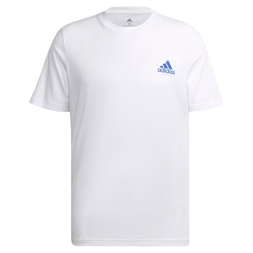 Men's Barricade Blueprint Tennis T- Shirt White