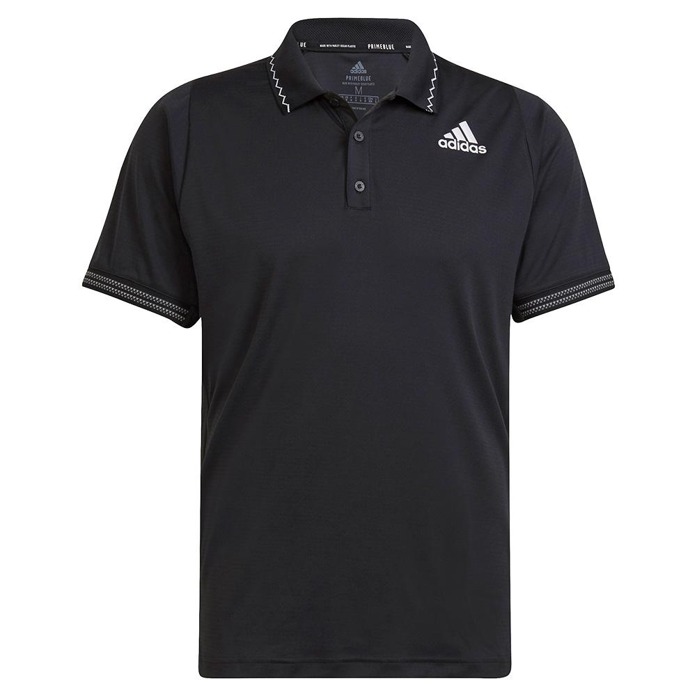 Men's Primeblue Freelift Tennis Polo Black