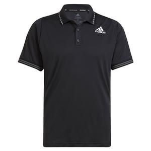 Men`s Primeblue Freelift Tennis Polo Black