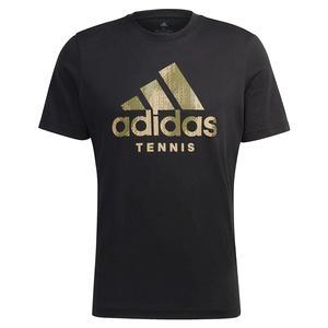 Men`s Category Camo Tennis T-Shirt Black