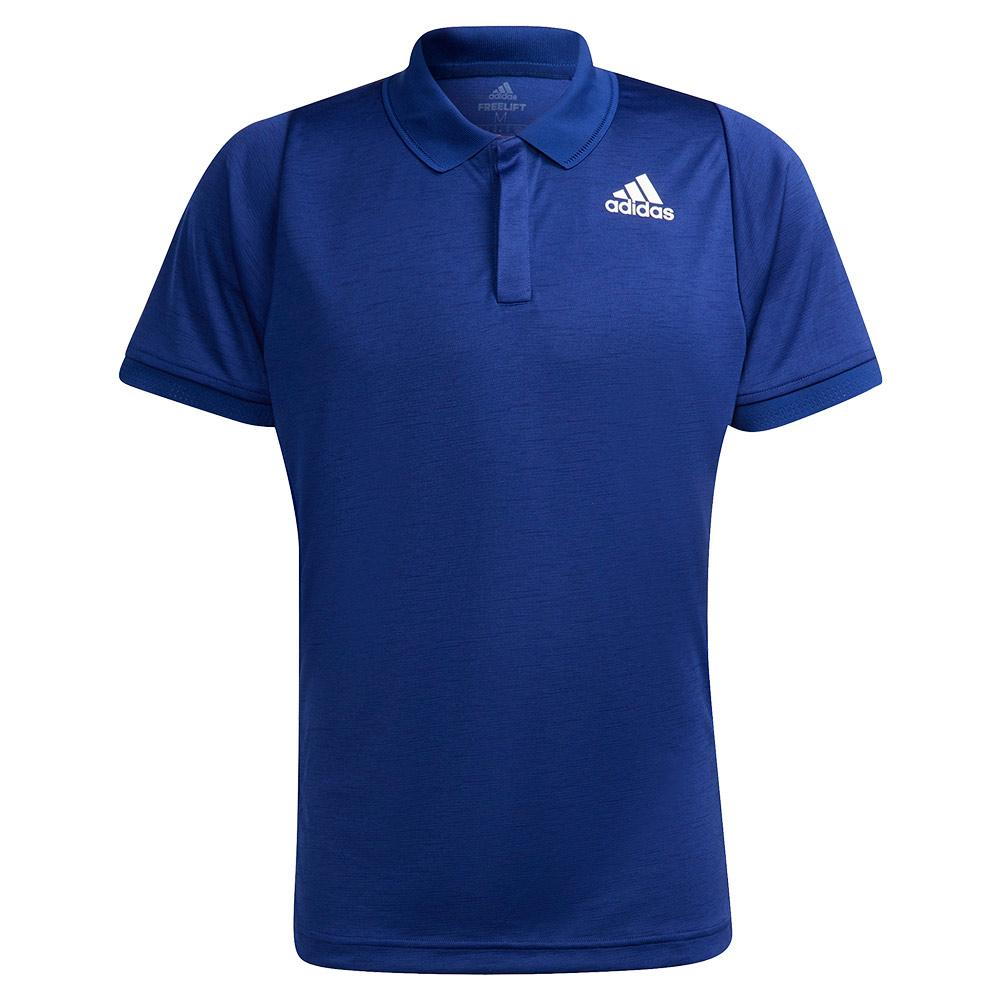 Men's Freelift Tennis Polo Victory Blue And White