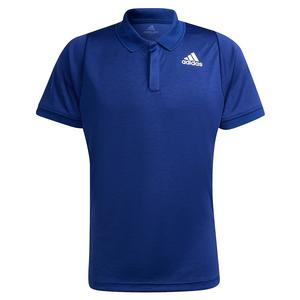 Men`s Freelift Tennis Polo Victory Blue and White