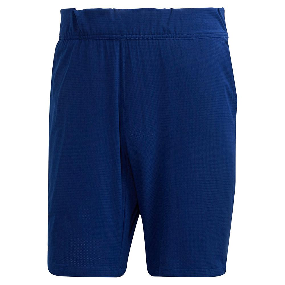 Men's Ergo 9 Inch Tennis Short Victory Blue And White
