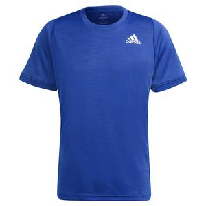 Men`s Freelift Tennis Top Victory Blue and White