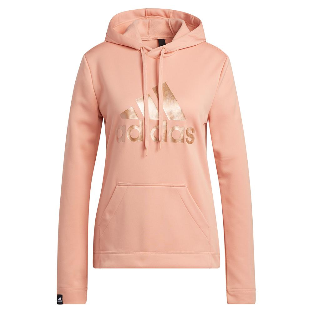 Women's Game And Go Big Logo Hoodie Ambient Blush