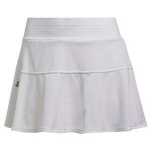 Women`s Primeblue HEAT.RDY Tokyo Match 13 Inch Tennis Skort White and Black