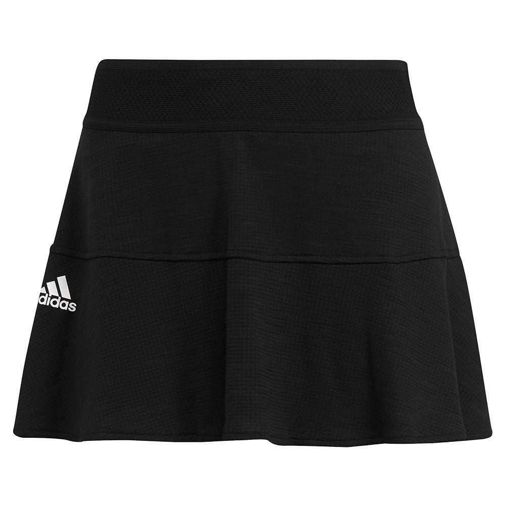 Women's Aeroready Match 13 Inch Tennis Skort Black And White
