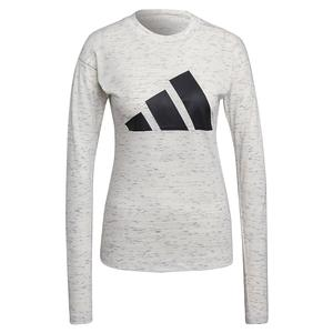 Women`s Sportswear Winners 2.0 Long Sleeve Top White Melange