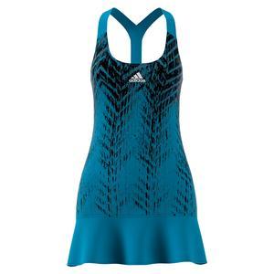 Women`s Primeblue Tennis Dress Sonic Aqua