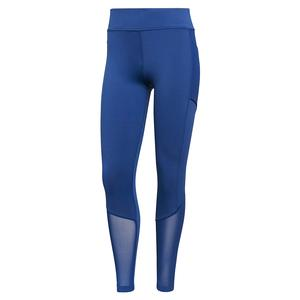 Women`s Aeroready Match Tennis Tight Victory Blue and White