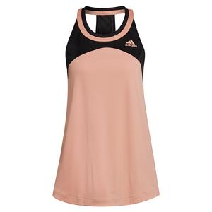 Women`s Club Tennis Tank Ambient Blush and Black