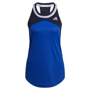 Women`s Club Tennis Tank Bold Blue and Legend Ink