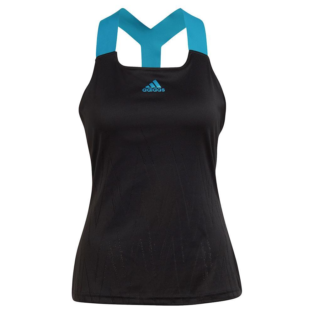 Women's Primeblue Aeroknit Y- Back Tennis Tank Black