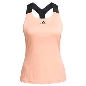 Women`s Primeblue Aeroknit Y-Back Tennis Tank Ambient Blush