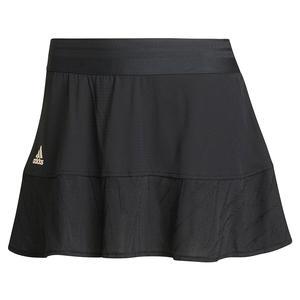 Women`s Primeblue Aeroknit Match 13 Inch Tennis Skort Black