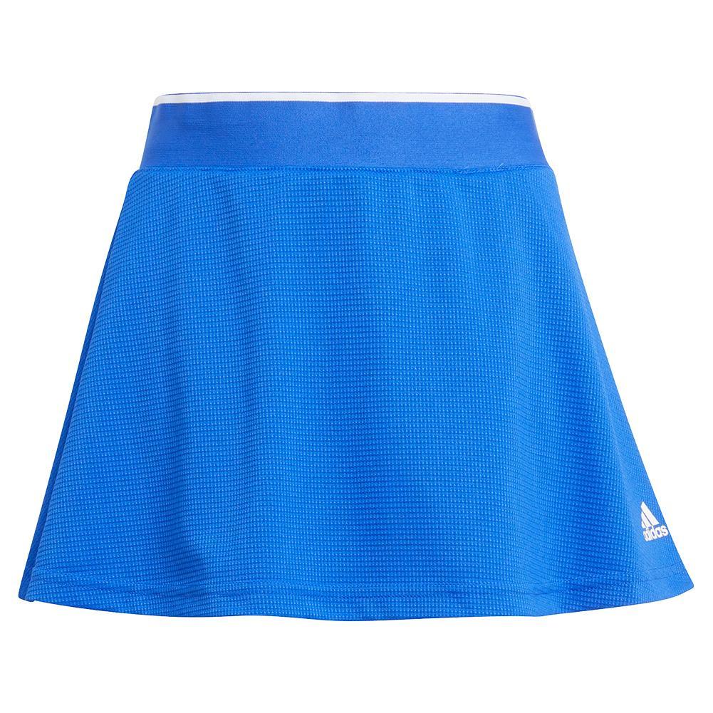 Girls ` Club Tennis Skort Bold Blue And White