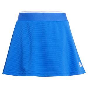 Girls` Club Tennis Skort Bold Blue and White