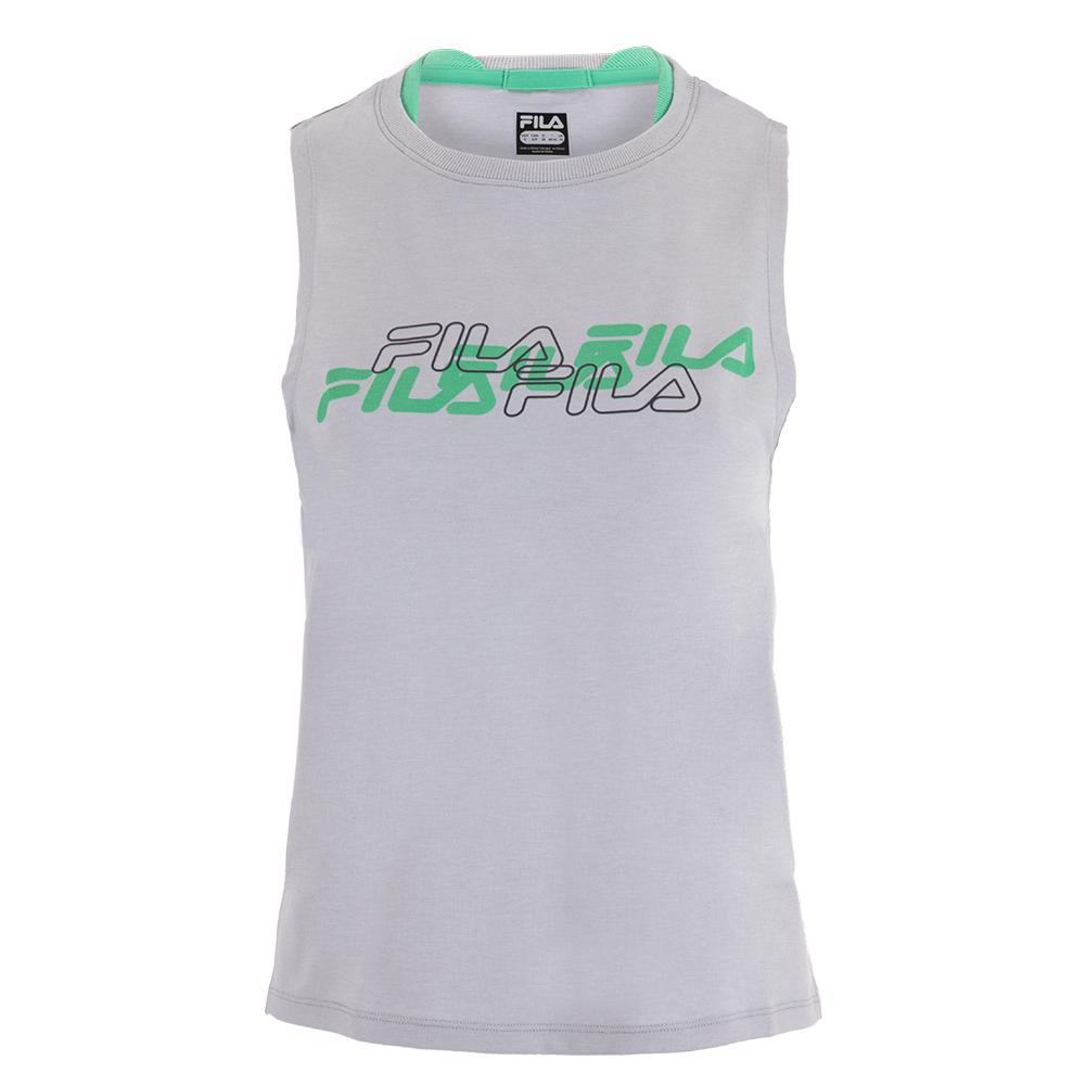 Women's Fast And Free Training Tank Highrise And Jade Cream