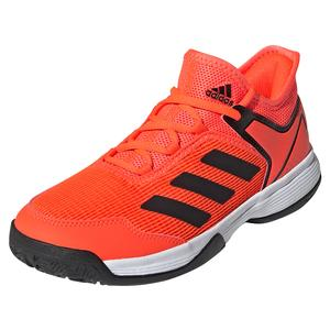 Juniors` Ubersonic 4 K Tennis Shoes Solar Red and Core Black