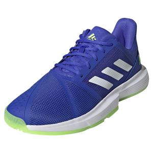 Men`s CourtJam Bounce Tennis Shoes Sonic Ink and White