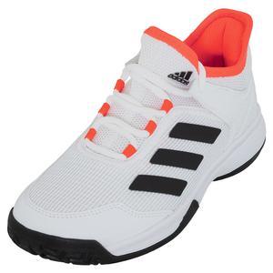 Juniors` Ubersonic 4 K Tennis Shoes White and Core Black