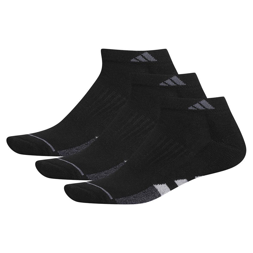 Women's Cushioned Ii Low Cut Socks 3- Pack Black And Clear Onix