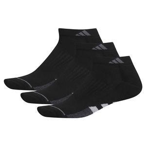 Women`s Cushioned II Low Cut Socks 3-Pack Black and Clear Onix
