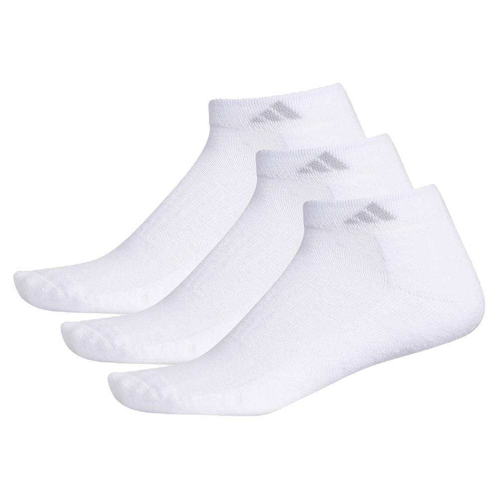 Women's Cushioned Ii Low Cut Socks 3- Pack White And Clear Onix