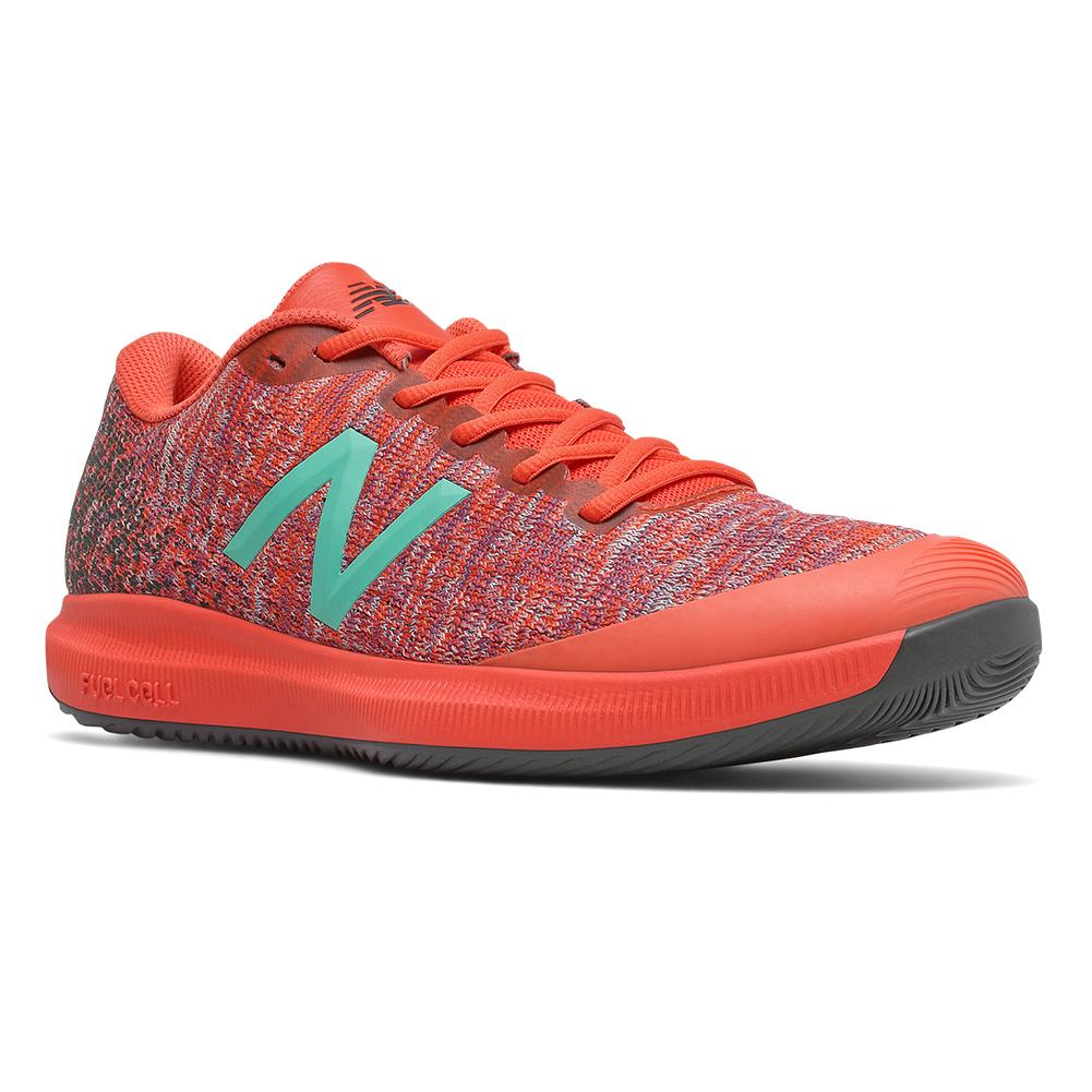 Men's Fuelcell 996v4 D Width Tennis Shoes Ghost Pepper And Phantom