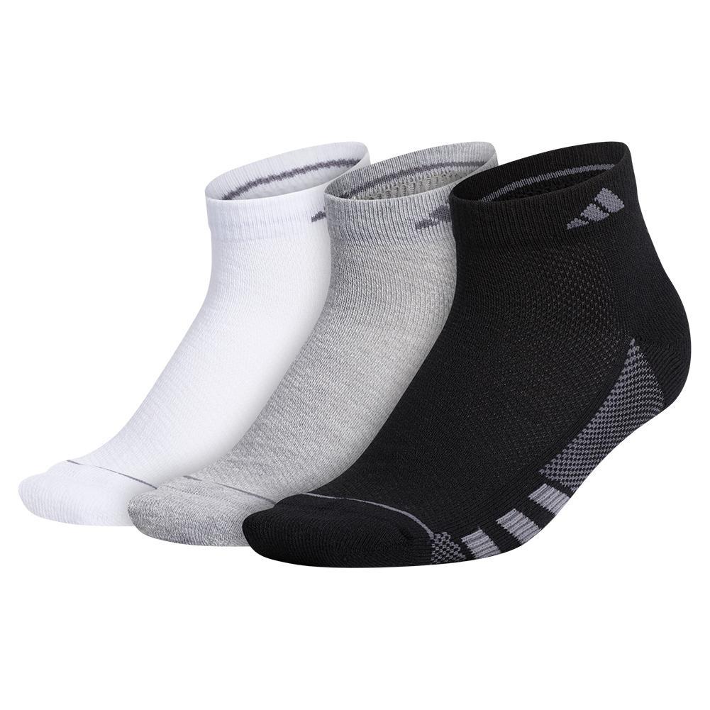 Women's Superlite Stripe Ii Low Cut Socks 3- Pack Black And Grey