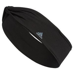 Alpha Twist Headband Black and Dark Onix