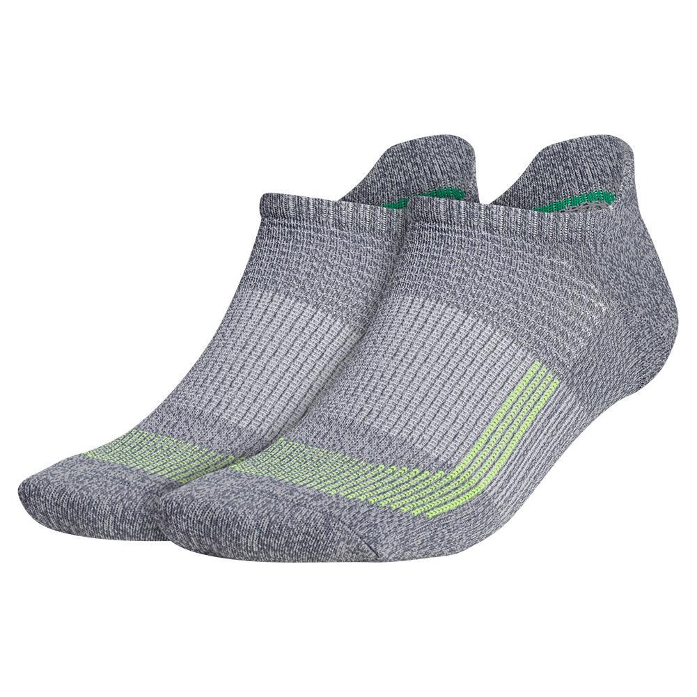 Mens Superlite Ub21 Tabbed No Show Socks 2- Pack Onix And Light Onix