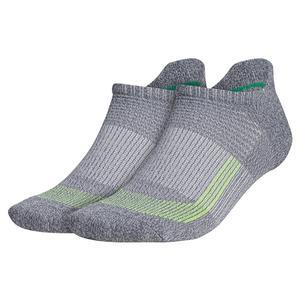 Mens Superlite UB21 Tabbed No Show Socks 2-Pack Onix and Light Onix