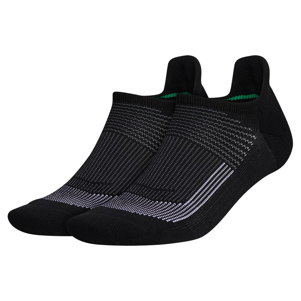 Mens Superlite Ub21 Tabbed No Show Socks 2- Pack Black And Grey