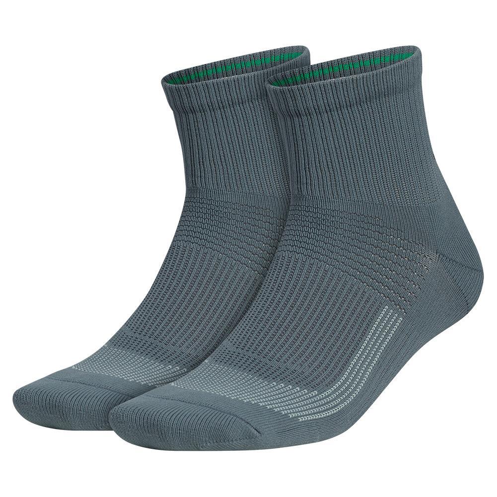 Mens Superlite Ub21 Quarter Socks 2- Pack Blue Oxide And Carbon
