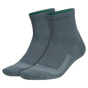 Mens Superlite UB21 Quarter Socks 2-Pack Blue Oxide and Carbon